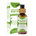 Hair Growth Oil-100% Natural Organic Herb Treatment-For All Hair Types