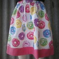 """Donuts""- Girls Novelty Skirt"