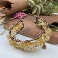 Citrine Wide Bangle