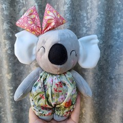 handmade koala doll, toy, softie