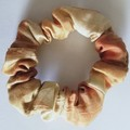 Silk Scrunchie - Plant-Dyed - Earthy Tones - Larger Size & Standard Elastic