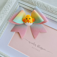 Easter Rose bow