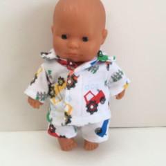 Miniland Dolls Pajamas to fit 21cm Dolls