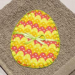 Easter Egg Face Washer
