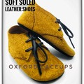 Suede Oxford lace ups