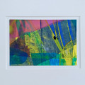 """Sun Rays"" original acrylic painting on paper"