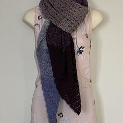 'Amorette' shawl, scarf, handmade, crochet
