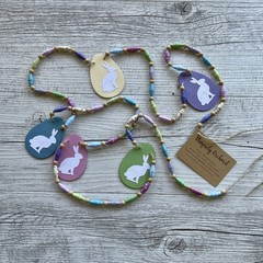 Easter Beaded Bunting
