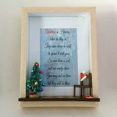 Memorial Christmas in Heaven, Loss of loved one, Sympathy Condolences gift