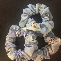 Frozen Scrunchies