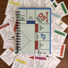2022 Monopoly Board Diary