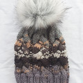 ADULT GUMNUT BEANIE - GREY MIX