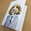Cavoodle Greeting Card