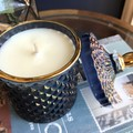 Grand Sale: Luxury Soy Candle   Geo Cut Glass Jar - 7 Styles   Highly Scented