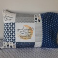 GOODNIGHT PILLOWCASE/INNER FLAP/FITS TODDLER PILLOW/35CM X 50CM