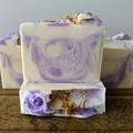 Lavender & Honey Triple Butter Luxury Soap Bar