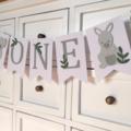 Australian Animals CUSTOM name banner, personalised. Koala, Kangaroo.