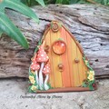 Enchanted Autumn Fairy Door