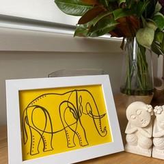 The Elephant Exotic Artwork