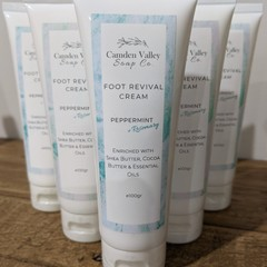 Foot Revival Cream - Peppermint & Rosemary