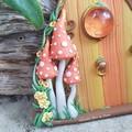 Enchanted Autumn Fairy Door