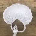 Baby bonnet 0-6 months