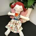 Flower Sprite handmade Rag Doll, fairy doll