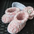 Baby booties and headband 00 (6 months)
