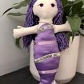 Mermaid handmade Rag Doll