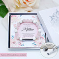 Rose Quartz Wish Bracelet for Mother | Personalised Jewellery | Custom Secret