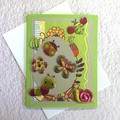 Green Easter Card for a Child
