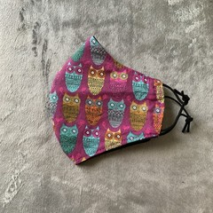 Cotton Face Mask - OWLS
