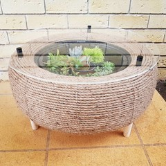 Recycled Tyre Living Coffee Table