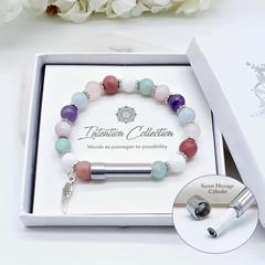 Self Worth & Forgiveness Intention Bracelet  | Wish Bracelet | Secret Message Br