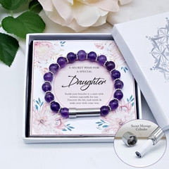 Wish Bracelet for Daughter | Personalised Jewellery | Secret Message