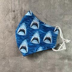 Cotton Face Mask - SHARKS