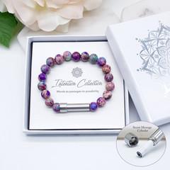 Aqua Terra  Jasper Wish Bracelet | Intention Bracelet