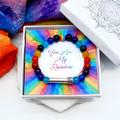 PRIDE Bracelet | LGBTQIA Bracelet | PRIDE Gift | Wish Bracelet | Secret Message