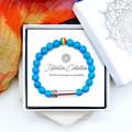 Blue PRIDE Bracelet | LGBTQIA Bracelet | PRIDE Gift | Wish Bracelet |