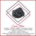 Mens Beaded Intention Bracelet   Black Lava, Garnet, Obsidian & Red Jasper Beade