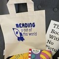 Space Library Bag