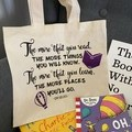 Dr Suess Tote bag or Library bag