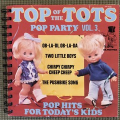 Top of the Tots 45 Notebook
