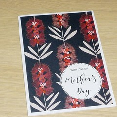 Mother's Day or Birthday card - Australian Natives