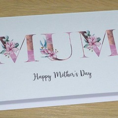 Mothers Day Card  - magnolia MUM