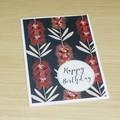 Birthday card - Australian Natives