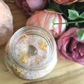 WILD ONE  Bath Soak -  Bergamot, Orange & Frankincense infused with Citrine