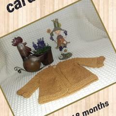 Toddler cardigan