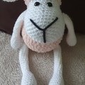 Crochet Sheep Soft Toy, Sheep Amigurumi