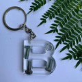Nuts and Bolts letter keychains